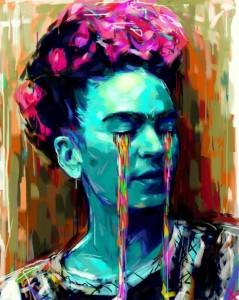 Las lágrimas de colores de Frida